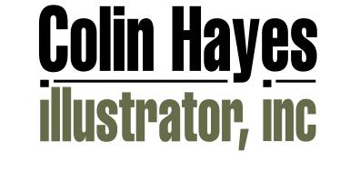 Colin Hayes Illustrator, Inc.