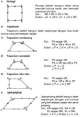 Matematika Bangun Datar Share The Knownledge
