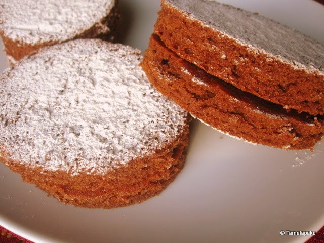 Eggless Chocolate Sponge Cake