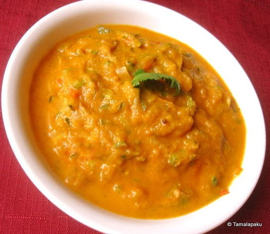 Zucchini Gravy Curry