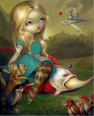 Alicenations Alice By Jasmine Becket Griffith