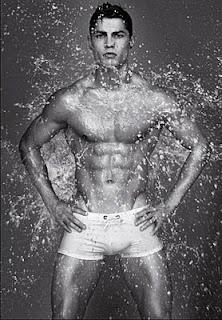 Cristiano Ronaldo Sexy Pose for Emprio Armani