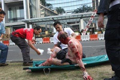 Marriott and Ritz Carlton Hotels in Jakarta bombed