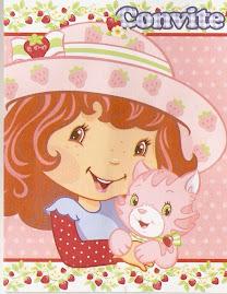 Tema do Terceiro Aniversário da Maria Fernanda Moranguinho