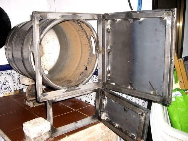 Fogones a le a mi horno a le a - Como cocinar en un horno de lena ...