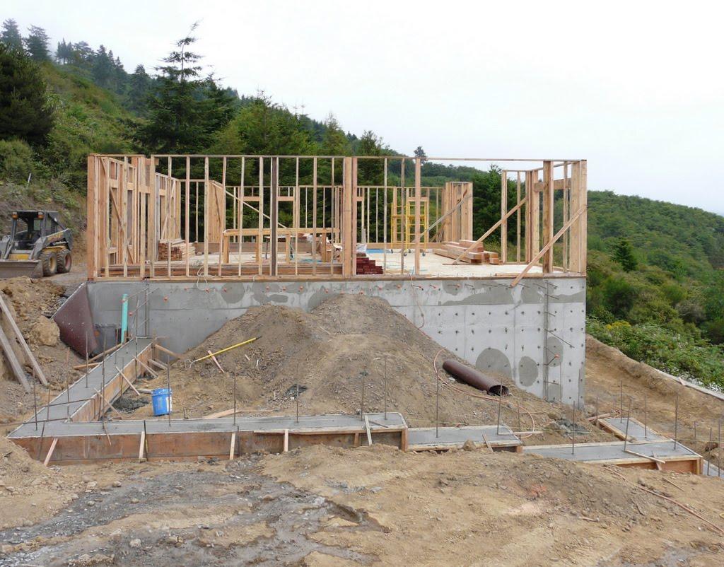Bob Linda Build A House In Brookings Garage Foundation