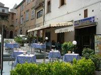tables outside