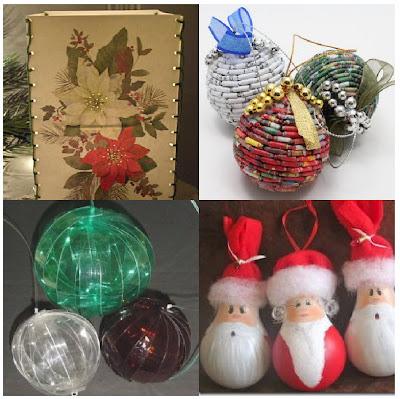 El mundo del reciclaje ideas de navidad reciclando for Ideas reciclaje decoracion