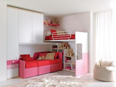 Camas altas literas para dormitorios deco ideas - Escaleras para camas altas ...