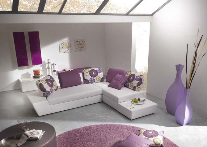 Salas modernas con muebles coloridos home design architectur - Decoracion de muebles de sala ...