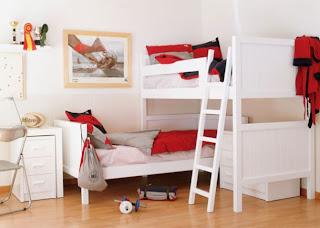 Camas Para Dormitorios De 2 Niños           ...