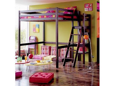 Camas dormitorios infantiles que ahorran espacio deco ideas for Modelos de habitaciones infantiles
