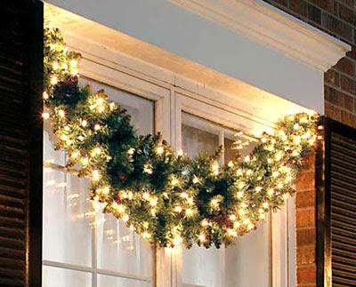 Preparando la fiesta de navidad (libre todos foro) Decoracion-navidad-puerta-casa