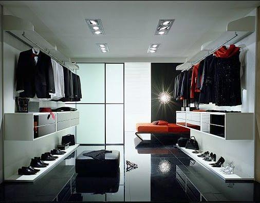 Walk In Closet Pequenos Con Baño:WALK-IN CLOSET MODERNOS Y AMPLIOS