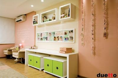 Interior sweet design decoracion de dormitorio infantil - Dormitorios bebe nina ...