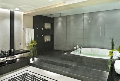 decoracion-cuarto de baño-jacuzzi-bañera
