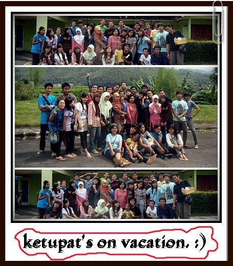 KetUpat's oN vaCatiOn