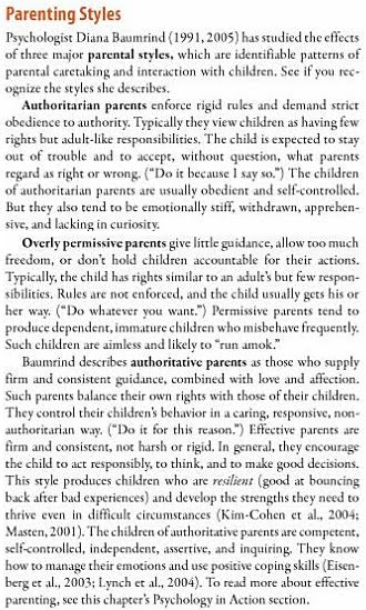 Authoritative Parenting Free Essays - Free Essay