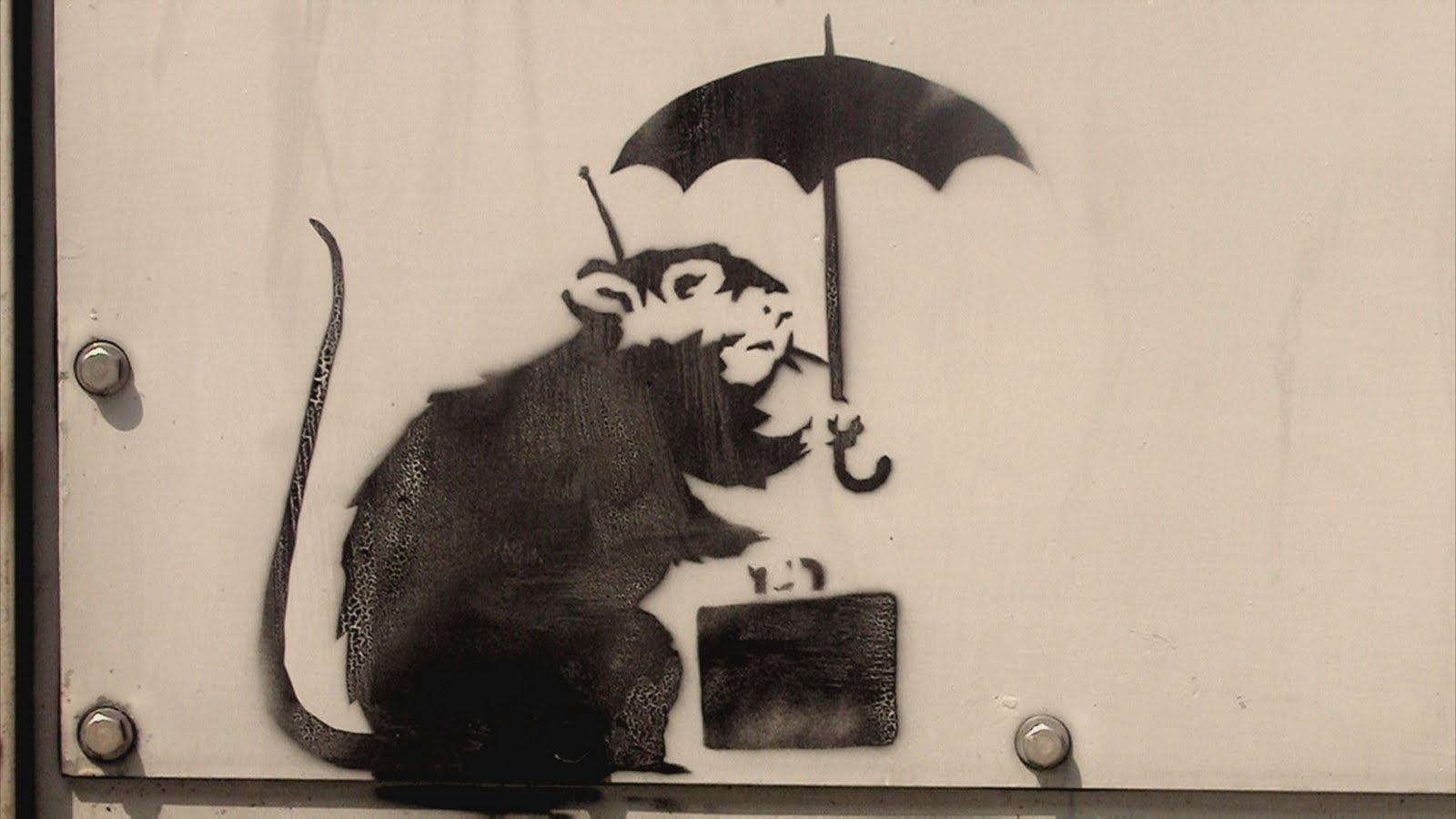 Aria 6 13 10 6 20 10 for Mural painted by street artist mr brainwash
