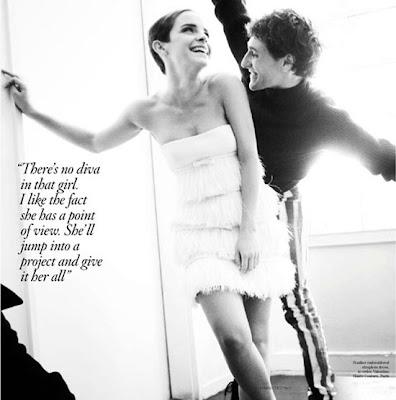 emma watson vogue 2010. Emma Watson for Vogue UK