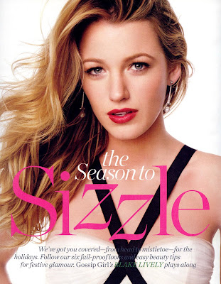Gossip Girls Blake lively looking gorgeous