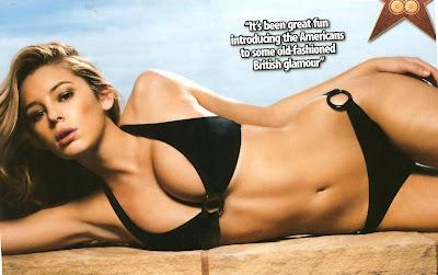 Keely Hazell bikini