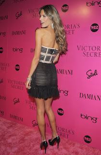 Alessandra Ambrosio at the Victorias Secret Fashion Show after party