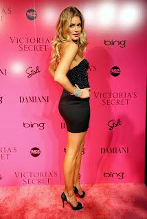 Doutzen Kroes at the Victorias Secret Fashion Show after party