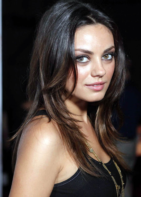 Mila Kunis is super cute