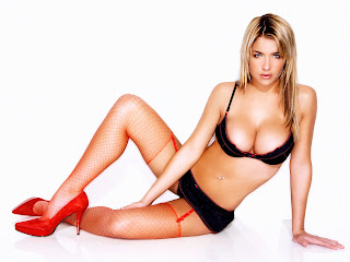 Sexy Gemma Atkinson in lingerie