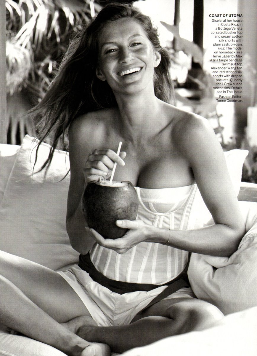 Gisele Bunchen in Vogue