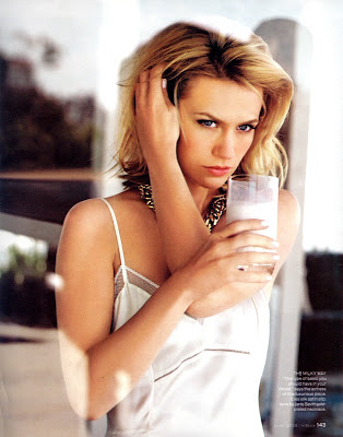January Jones InStyle Magazine