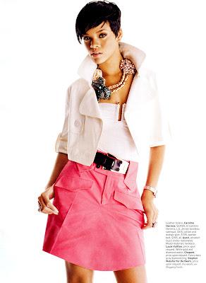 Rihanna in Elle
