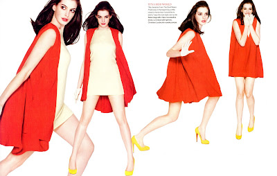 Anne Hathaway in InStyle Magazine