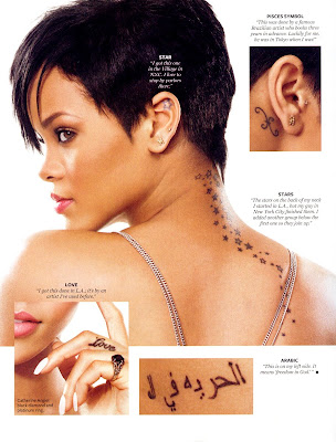 Rihanna looking great InStyle
