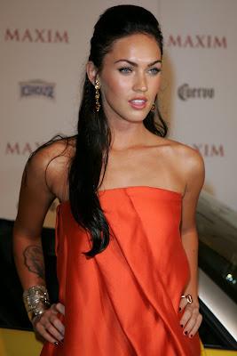 Megan Fox in Orange
