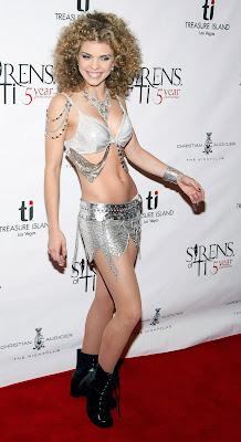 Anna Lynn McCord in a metal bikini