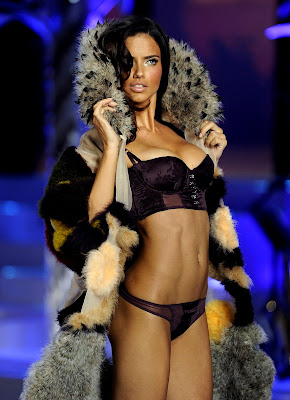 Adriana Lima in lingerie at the Victorias Secret Fashion Show