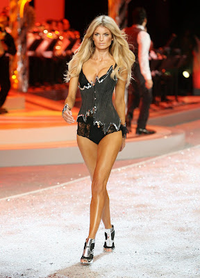 Marisa Miller in lingerie at the Victorias Secret Fashion Show