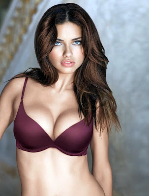 Adriana Lima is absolutely stunning in lingerie