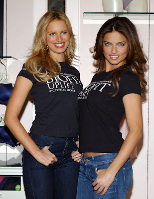 Adriana Lima and Karolina Kurkova are totally hot
