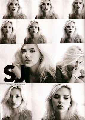 Scarlett Johansson in Elle