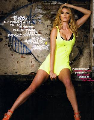 Supermodel Marisa Miller