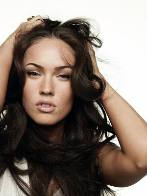 Megan Fox looks just a wee bit crazy