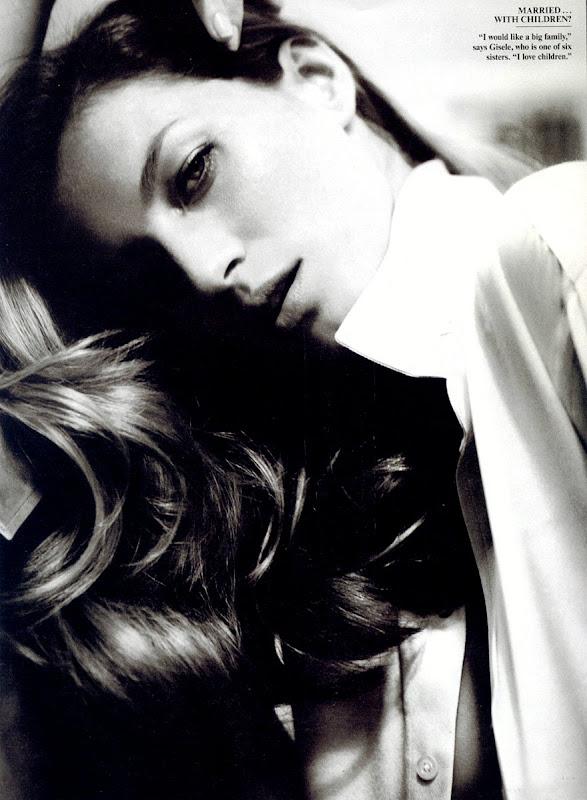 Gisele Bundchen in Vanity Fair