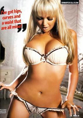 Jennifer Ellison lingerie