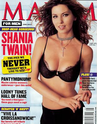 Shania Twain in Maxim