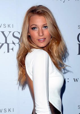 Blake Lively is really pretty in white