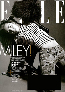 Miley Cyrus in Elle