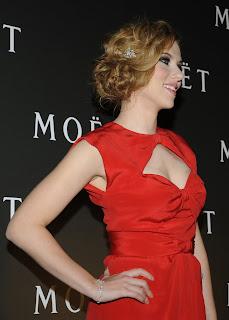 Scarlett Johansson - Sexy Woman in Red